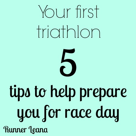 first triathlon tips