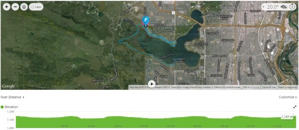 Calgary 70.3 Run Course
