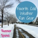 Favorite Cold Weather Run Gear