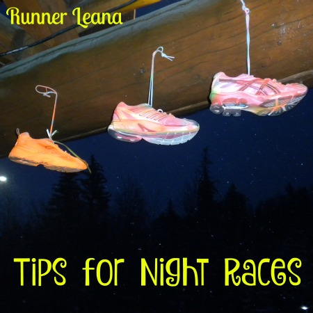 Tips for Running Night Races on Runner Leana