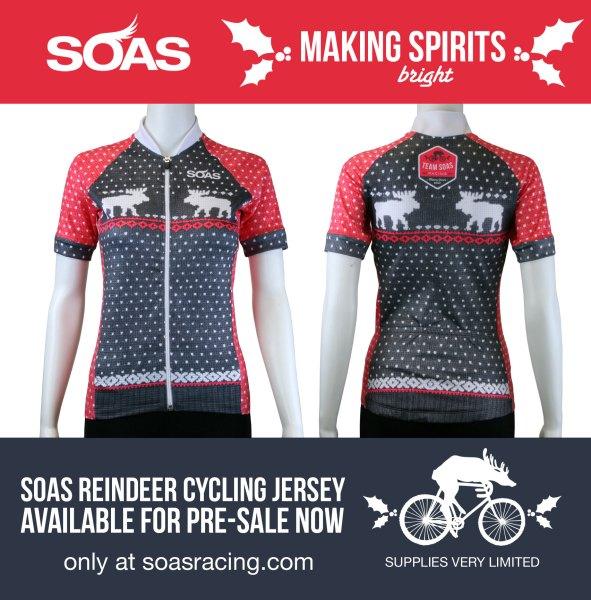SOAS Racing Reindeer Cycling Jersey