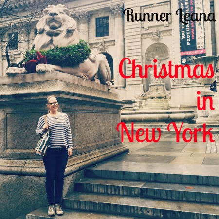 Christmas in New York via Runner Leana