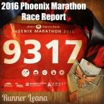 2016 Phoenix Marathon Race Report