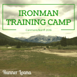 2016 Ironman Training Camp
