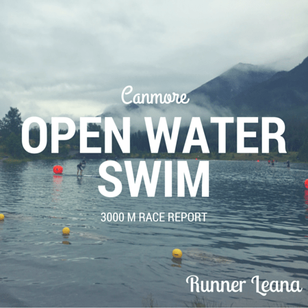 Canmore Open Water Swim Race Report