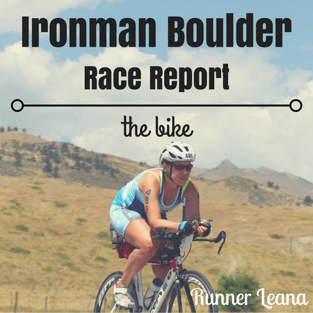 2016 Ironman Boulder Race Report: bike