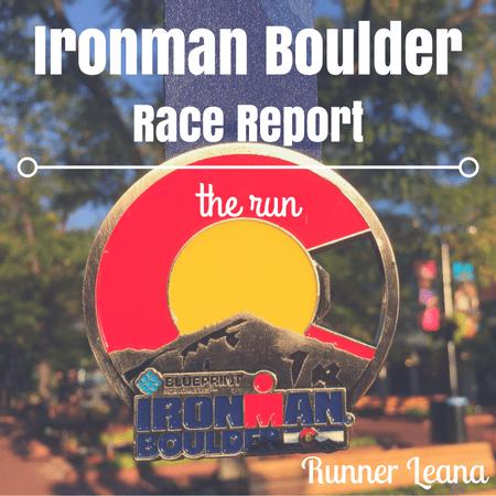 2016 Ironman Boulder Race Report: run