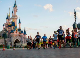 Half Marathon Run Disney in Marne la Vallee