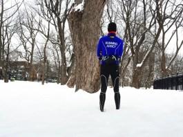 courir dans le froid et dans la neige avec le bon équipement running