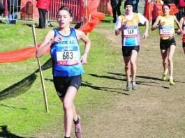 jacqueline gandar est la championne de france espoir de cross-country 2015