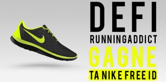 un défi running addict pour gagner une nike free id
