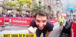 Mon premier marathon en vidéo