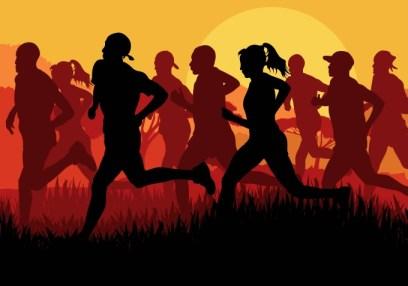 running-people