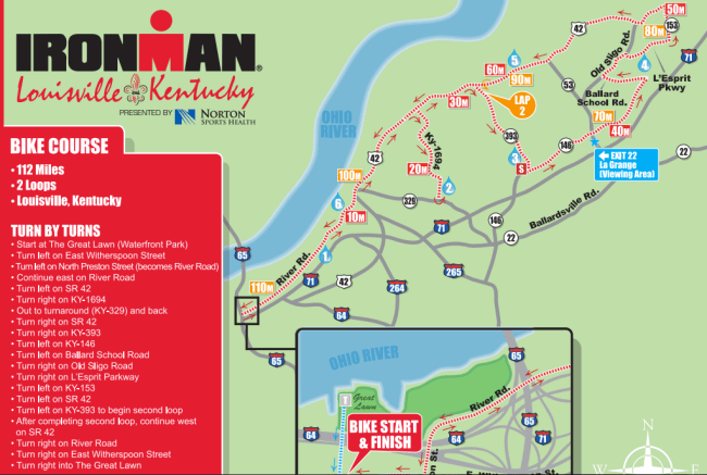 Ironman Louisville Bike Course