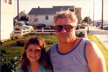 My dad and I, somewhere around 1979-1980.