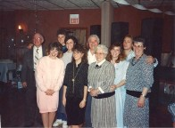 My paternal and material grandmothers, both in the right of this picture.