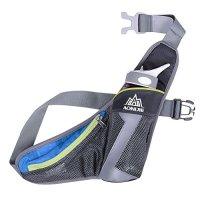 WATERFLY Running Belt Waist Bag with Water Bottle Holder ...