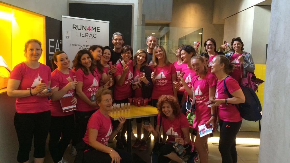 Il Tour corre in città! Run4Me Lierac a Roma e Bologna