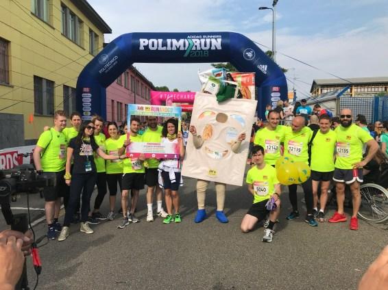 Partenza del team Milanese alla Polimirun