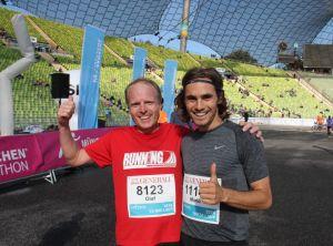 RUNNING Company München Marathon 2016 Olaf Dieckmann und Mario Luber