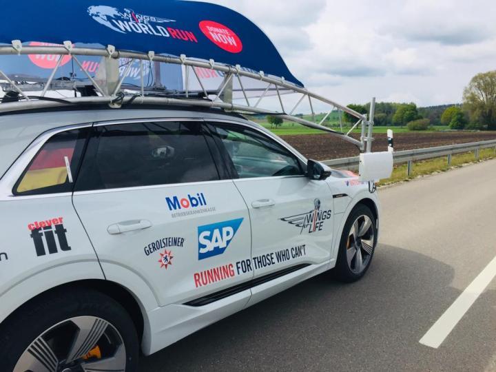 Team RUNNING Company auf Flügeln in München und der Welt