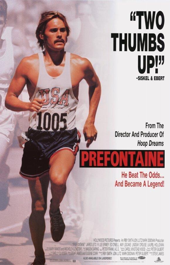 Película Prefontaine (1997) con Jared Leto y Amy Locane