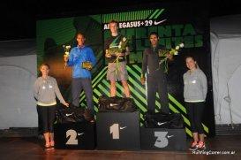 Carrera Nike We Run Montevideo 2012 Podio hombres