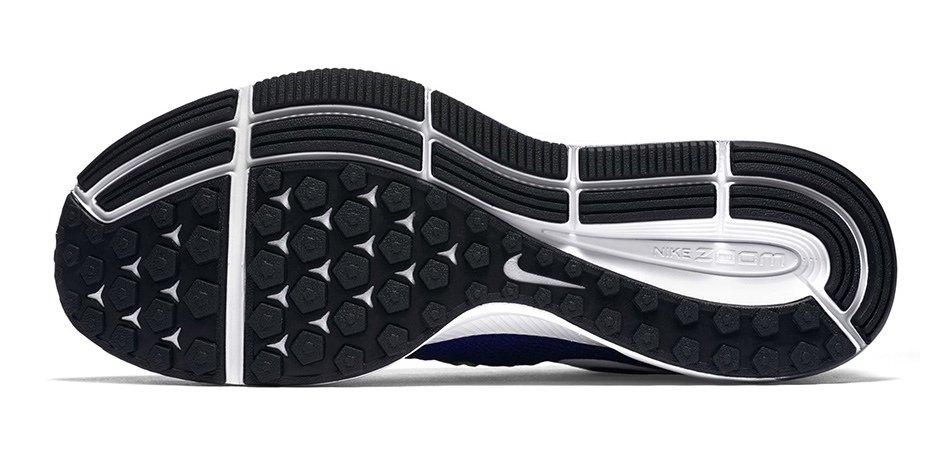 Zapatillas para correr Nike Air Zoom Pegasus 33 para hombre - Detalle de la suela apta para todo tipo de superficie