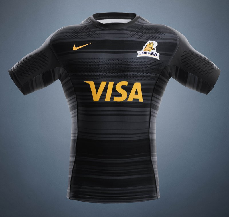 Camiseta negra Nike Jaguares 2018 local