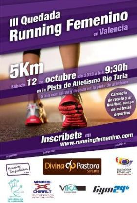 cartel III quedada running femenino - Nosotras Deportistas
