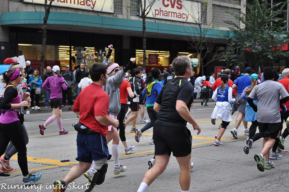 Chicago Marathon 2012-15
