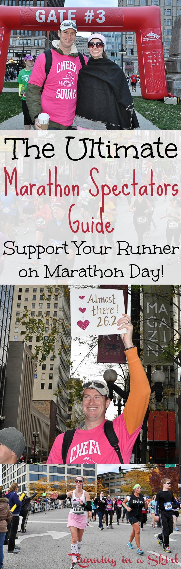The Ultimate Marathon Specators Guide