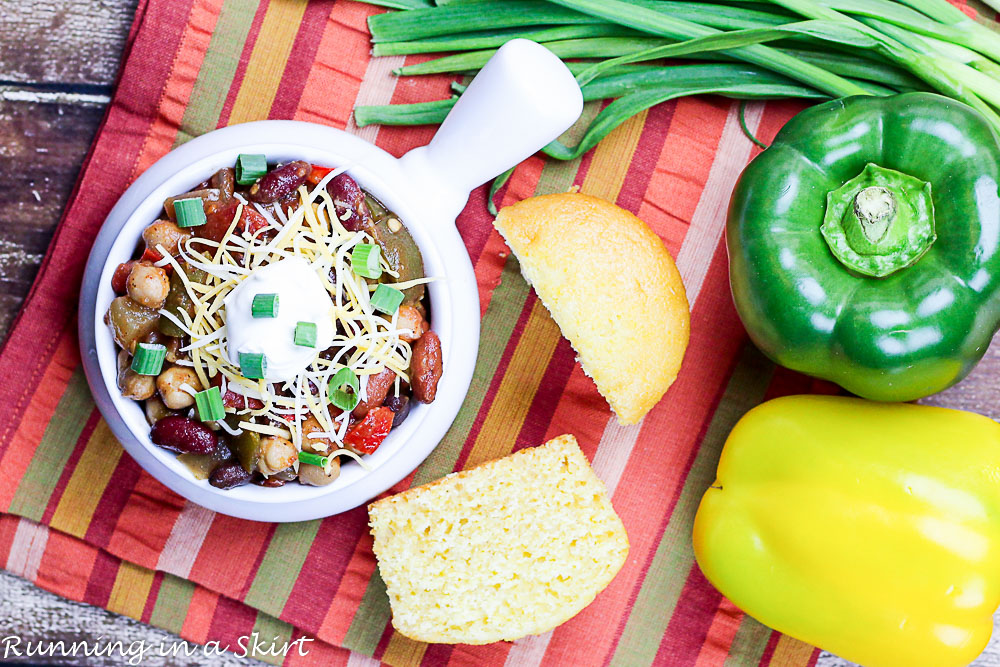 Crock Pot Award Winning Vegetarian Chili Recipe-77-6