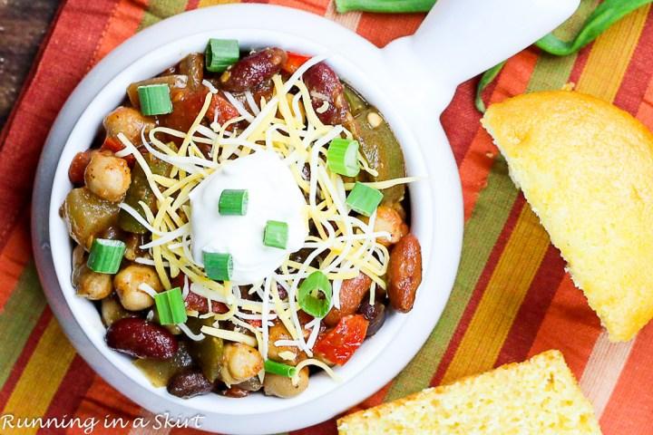 Crock Pot Award Winning Vegetarian Chili Recipe-78-7