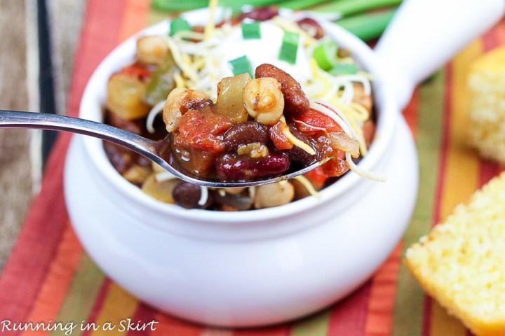 Crock Pot Award Winning Vegetarian Chili Recipe-89-8
