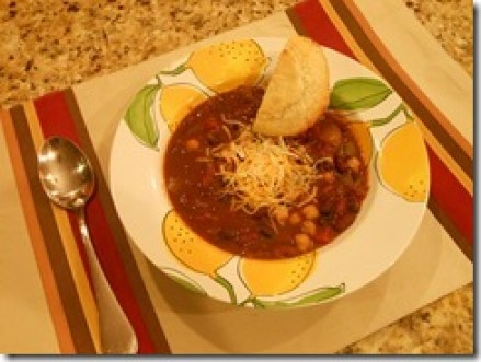Award Winning Vegetarian Chili - This recipe won a cook-off against meat chili entries! Made in a crock pot and will change the way you think about vegetarian chili!
