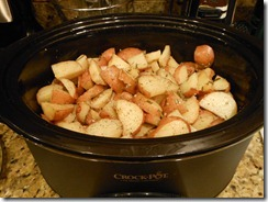Crock Pot Rosemary Lemon Red Potatoes