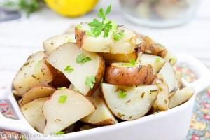 Crock Pot Rosemary Potatoes