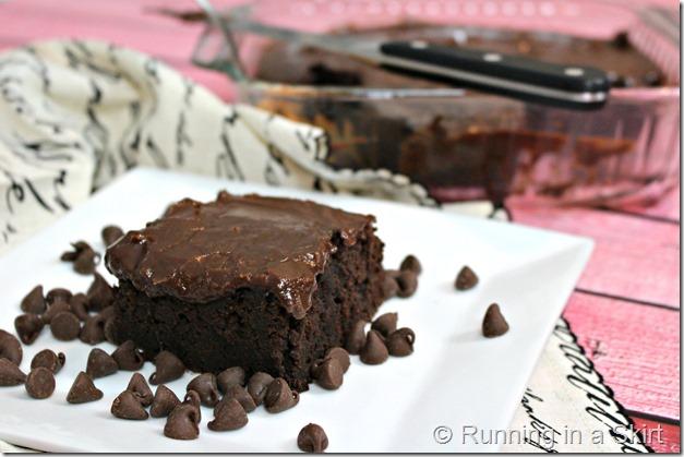 Black Bean Brownie - two ingredients for brownies! So fudgy that no one will believe the healthy secret ingredient!