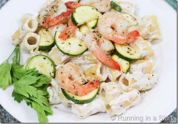Lemon Ricotta Pasta with Shrimp-28