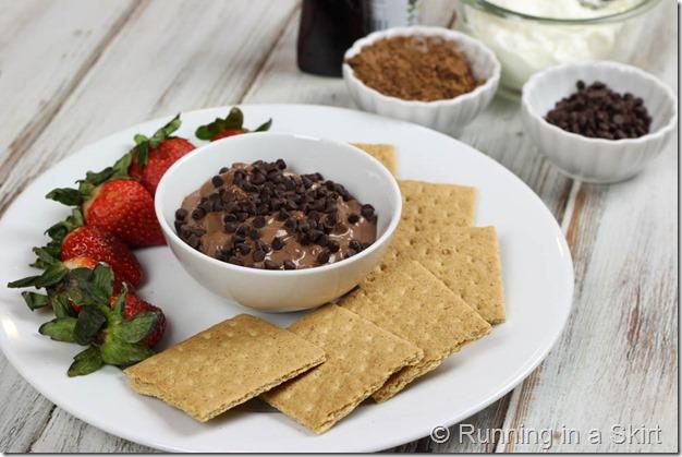 Dark Chocolate Greek Yogurt Dip-34-5