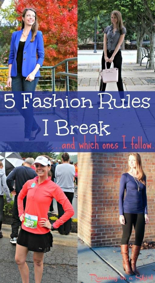 Fashion Rules to Break Pin
