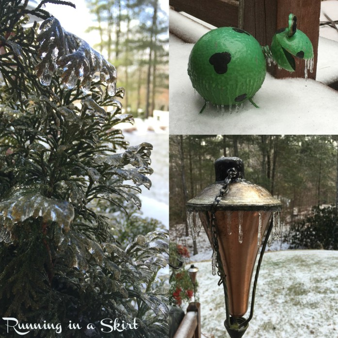 ice storm asheville febuary 2015