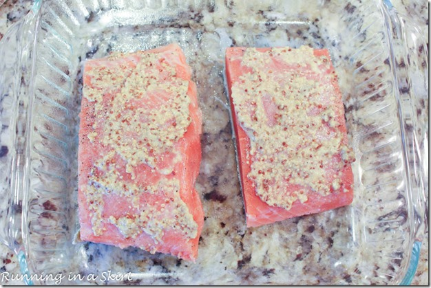 Pistachio Crusted Salmon Recipe / Running in a Skirt