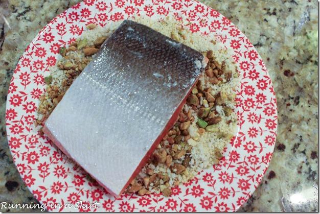 Pistachio Crusted Salmon Recipe-8-5-2