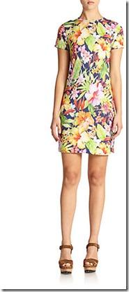 floral dress steal
