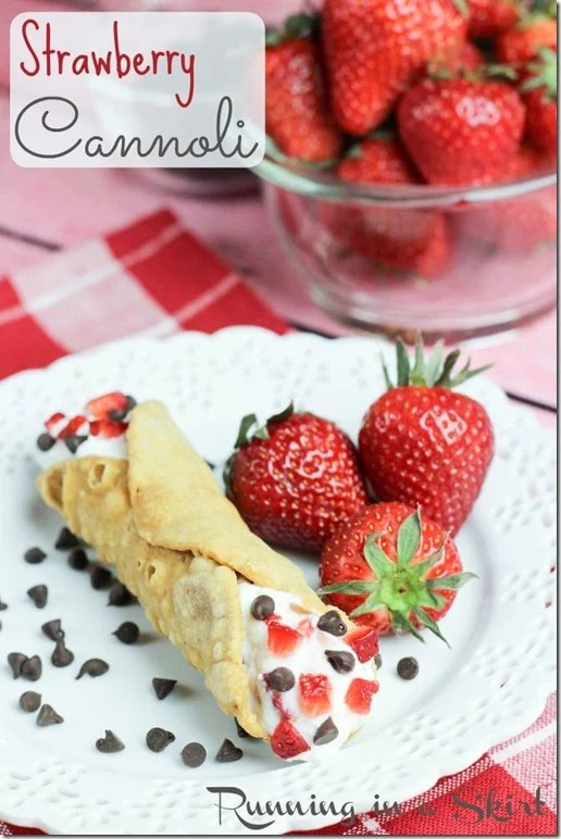 A twist on a classic Italian dessert, my Strawberry Cannoli will have the entire table asking for seconds!