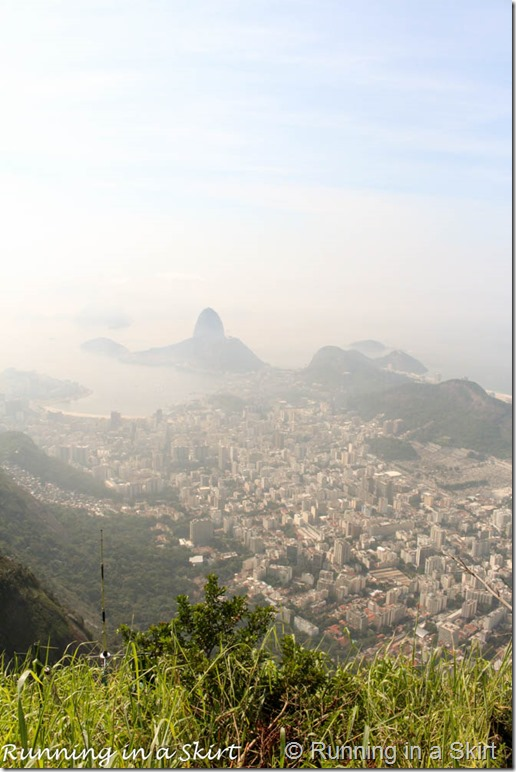 View from Christ the Redeemer- Rio Travel Guide including Rio Travel Tips