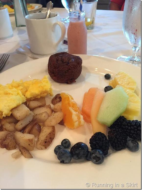 barnsely gardens breakfast