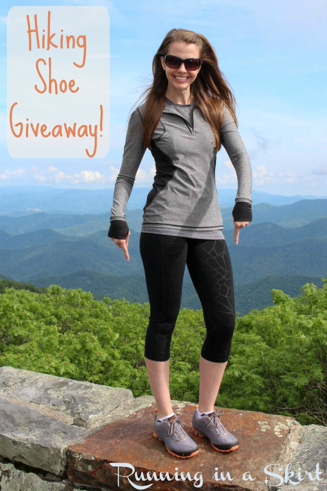 hiking shoe giveaway pin